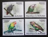 Poštovní známky Burundi 2011 Papoušci Mi# 1974-77 Kat 9.50€