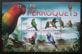 Poštovní známky Burundi 2011 Papoušci Mi# Block 151
