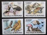 Poštovní známky Burundi 2011 Dravci Mi# 2014-17 Kat 9.50€