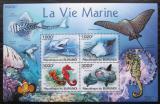 Poštovní známky Burundi 2011 Mořská fauna Mi# Block 153