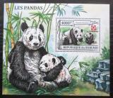Poštovní známka Burundi 2013 Panda velká Mi# N/N Kat 9€