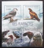 Poštovní známky Burundi 2012 Dravci Mi# 2803-06 Kat 10€
