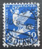 Poštovní známka Švýcarsko 1932 Holubice na zlomeném meči Mi# 253