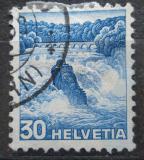 Poštovní známka Švýcarsko 1936 Rýnské vodopády Mi# 303
