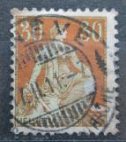 Poštovní známka Švýcarsko 1908 Helvetia Mi# 104 x