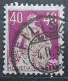 Poštovní známka Švýcarsko 1908 Helvetia Mi# 106 x