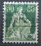 Poštovní známka Švýcarsko 1908 Helvetia Mi# 107 x