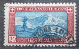 Poštovní známka Švýcarsko 1929 Mt. Lyskamm Mi# 237