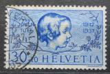 Poštovní známka Švýcarsko 1937 Dívčí hlava Mi# 317 Kat 7€