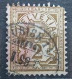 Poštovní známka Švýcarsko 1882 Nominální hodnota Mi# 50