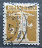 Poštovní známka Švýcarsko 1911 Tellův syn Mi# 111