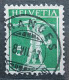 Poštovní známka Švýcarsko 1911 Tellův syn Mi# 113 III