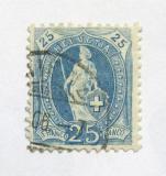 Poštovní známka Švýcarsko 1899 Helvetia Mi# 67