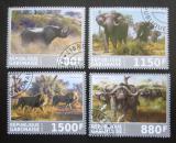 Poštovní známky Gabon 2017 Africká fauna Mi# N/N