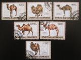 Poštovní známky Komory 2009 Velbloudi Mi# 2128-33 Kat 11€