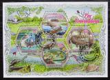 Poštovní známky Pobřeží Slonoviny 2018 Krokodýli Mi# N/N