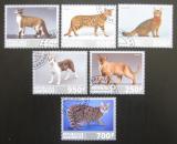 Poštovní známky Gabon 2017 Kočky Mi# N/N
