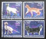 Poštovní známky SAR 2014 Kočky Mi# 4670-73 Kat 14€