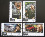 Poštovní známky Svatý Tomáš 2015 Automobily Citroen Mi# 6020-23 Kat 7.50€