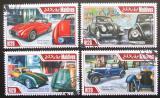 Poštovní známky Maledivy 2013 Historické automobily Mi# 5023-26 Kat 10€