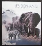 Poštovní známka Burundi 2012 Slon africký Mi# Block 291 Kat 9€