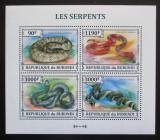 Poštovní známky Burundi 2013 Hadi Mi# 3223-26 Kat 8.90€