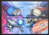 Poštovní známky Burundi 2012 Voyager 2, 35. výročí neperf. Mi# 2978-81 B