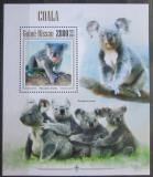 Poštovní známky Guinea-Bissau 2013 Koala medvídkovitý Mi# Block 1192 Kat 11€
