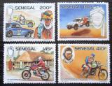 Poštovní známky Senegal 1988 Rallye Paříž-Dakar, 10. výročí Mi# 965-68 Kat 12€