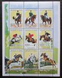 Poštovní známky Senegal 1999 Jezdecký sport, koně Mi# 1676-84 Kat 12€