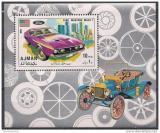 Poštovní známka Adžmán 1971 Ford Mustang Mach 1 Mi# Block 291 A Kat 6.50€