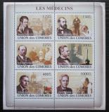 Poštovní známky Komory 2009 Slavní lékaři Mi# 1981-86 Kat 11€