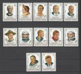 Poštovní známky Adžmán 1971 Osobnosti a jejich znamení Mi# 782-92 Kat 12.50€