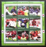 Poštovní známky Guinea-Bissau 2001 MS ve fotbale Mi# 1370-78 Kat 11€