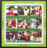 Poštovní známky Guinea-Bissau 2001 MS ve fotbale Mi# 1352-60 Kat 10€