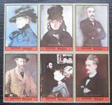 Poštovní známky Manáma 1972 Umění, portréty Mi# N/N