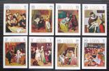 Poštovní známky Adžmán 1971 Umění neperf. Mi# 710-17 B Kat 11€