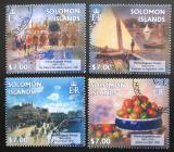 Poštovní známky Šalamounovy ostrovy 2013 Umění, Renoir Mi# 1721-24 Kat 9.50€