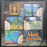 Poštovní známky Togo 2019 Umění, Vincent van Gogh Mi# N/N