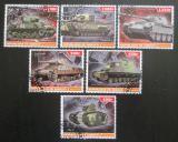 Poštovní známky Džibutsko 2015 Tanky Mi# N/N