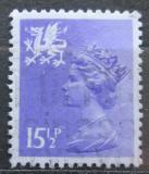 Poštovní známka Wales 1982 Královna Alžběta II. Mi# 36 A