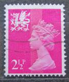 Poštovní známka Wales 1971 Královna Alžběta II. Mi# 13