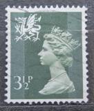 Poštovní známka Wales 1974 Královna Alžběta II. Mi# 15