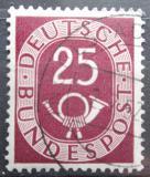Poštovní známka Německo 1951 Poštovní trubka Mi# 131 Kat 7€