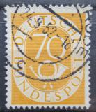Poštovní známka Německo 1952 Poštovní trubka Mi# 136 Kat 19€