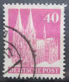 Poštovní známka Německo 1948 Katedrála svatého Petra v Kolíně Mi# 90