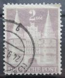 Poštovní známka Německo 1948 Holstentor v Lübecku Mi# 99