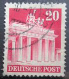 Poštovní známka Německo 1948 Brandenburská brána v Berlíně Mi# 85