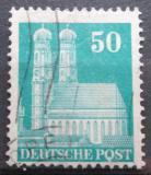 Poštovní známka Německo 1948 Frauenkirche v Mnichově Mi# 92