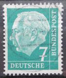 Poštovní známka Německo 1954 Prezident Heuss Mi# 181 x W